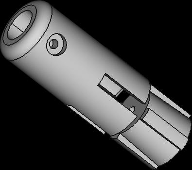 柱狀固定機構